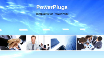 PowerPoint Template - Corporate background